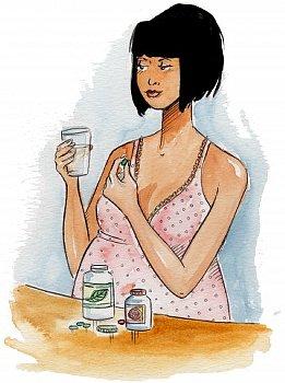 Чем лечить молочницу при беременности на поздних сроках